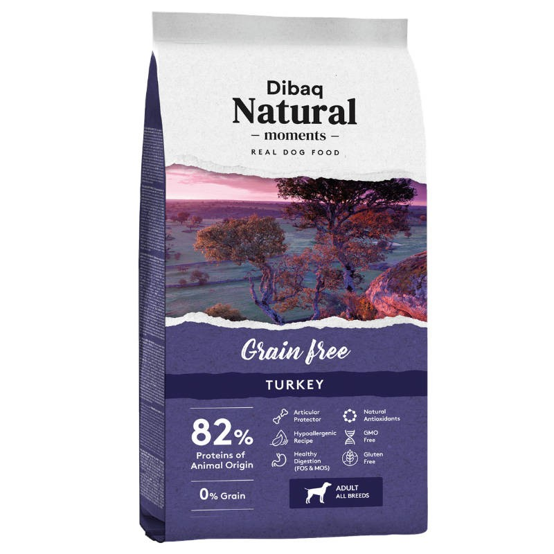Dibaq Natural Grain Free Hypoallergenic Turkey