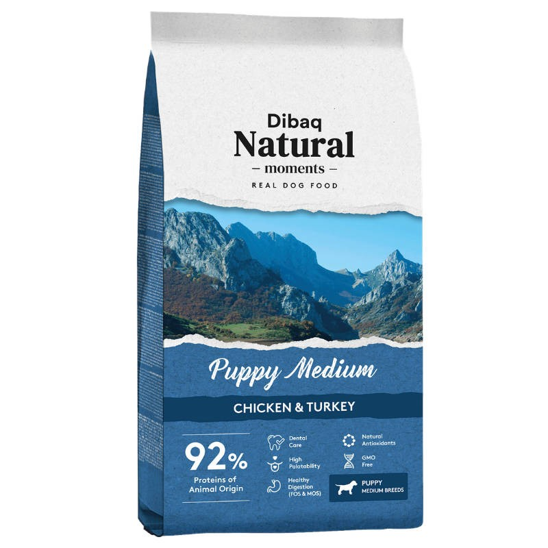 Dibaq Naturals Puppy Medium Chicken & Turkey