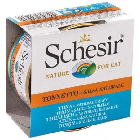 Schesir Cat Atum em molho natural wet lata
