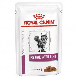 Royal Canin Veterinary Diets Cat Renal with Fish wet Royal Canin - 1