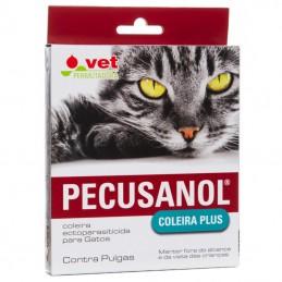 Pecusanol Plus coleira antiparasitária para gatos