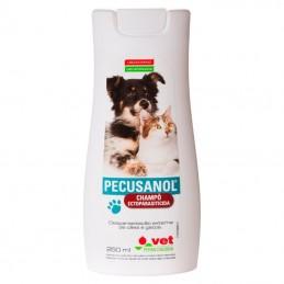 Pecusanol shampo ectoparasiticida para cães e gatos