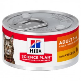 Hill's Science Plan Cat Adult Chicken wet lata Hill's - 1