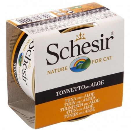 Schesir Cat Atum com Aloé em gelatina wet lata