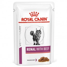 Royal Canin Veterinary Diets Cat Renal with Beef wet