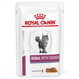 Royal Canin Veterinary Diets Cat Renal with Chicken wet
