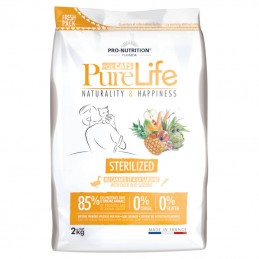 Pure Life Cat Sterilised Duck & Sardine