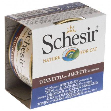 Schesir Cat Atum com Sardinha ao natural wet lata