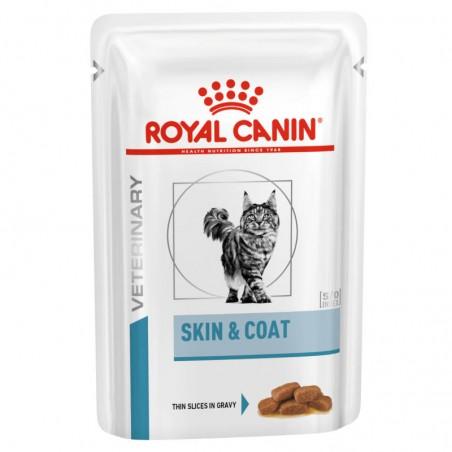 Royal Canin Veterinary Diets Cat Skin & Coat wet