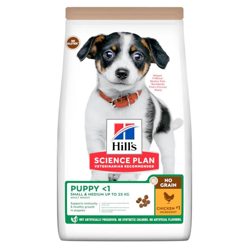 Hill's Science Plan Puppy Small & Medium no Grain Chicken Hill's - 1