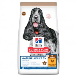 Hill's Science Plan Mature Adult 7+ All Breeds no Grain Chicken