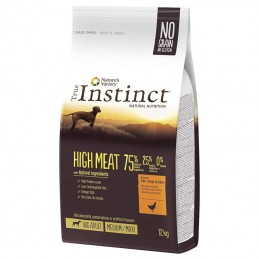 True Instinct Dog High Meat Adult Medium & Maxi Chicken