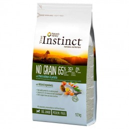 True Instinct Dog no Grain Junior Medium & Maxi Salmon & Potato