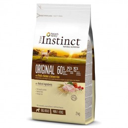 True Instinct Dog Original Adult Mini Chicken & Brown Rice