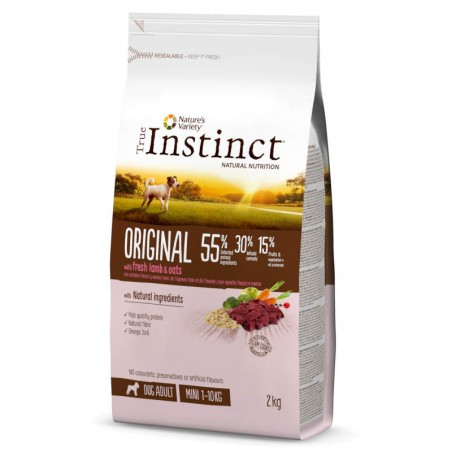 True Instinct Dog Original Adult Mini Lamb & Oats