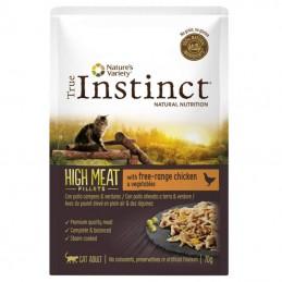 True Instinct Cat High Meat Adult Chicken wet