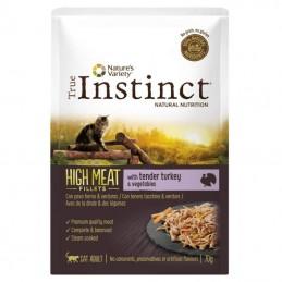 True Instinct Cat High Meat Adult Turkey wet