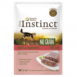 True Instinct Cat no Grain Adult Beef wet
