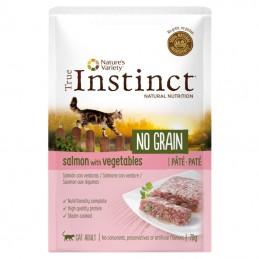 True Instinct Cat no Grain Adult Salmon wet