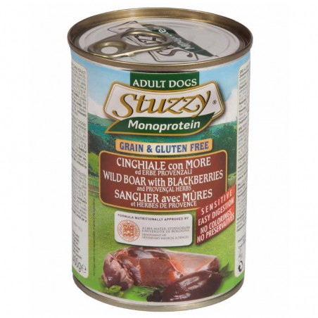 Stuzzy Monoprotein Javali com Amoras e Ervas grain free