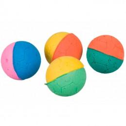 Trixie bolas em borracha macia 4 unidades Trixie - 1