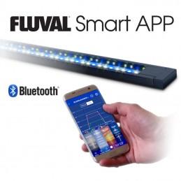 Aquario Fluval Flex branco com iluminação led 123lt