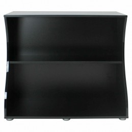 Mesa preta para Aquario Fluval Flex com iluminação led 123lt