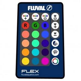Aquario Fluval Flex branco com iluminação led 57lt + mesa