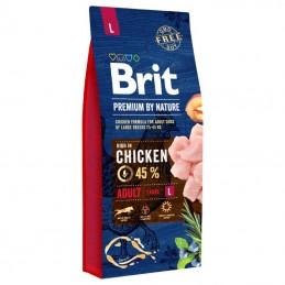 Brit Premium By Nature Dog Adult Large