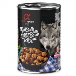 Alpha Spirit Meatballs with Wild Boar & Thume