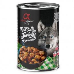 Alpha Spirit Meatballs with Turkey & Coriander