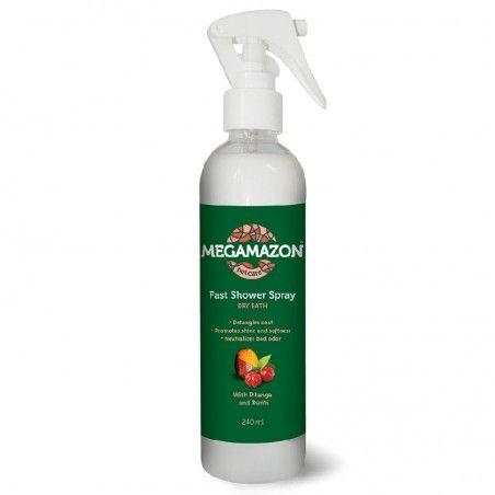 Megamazon Fast Shower Spray banho a seco Pitanga e Buriti