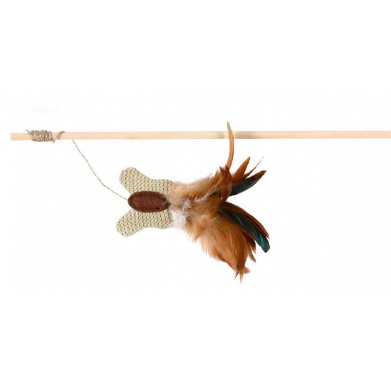 Trixie bastão com borboleta e penas