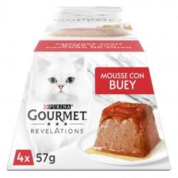Gourmet Revelation Mousse Vaca e uma cascata de molho Multipack 4x57gr