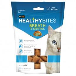 Vetiq HealthyBites Breath & Dental for cats and kittens