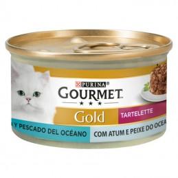 Purina Gourmet Gold Tartelette Duo Atum & Peixe do Oceano