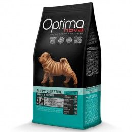 Optima Nova Dog Puppy Digestive Rabbit & Potato