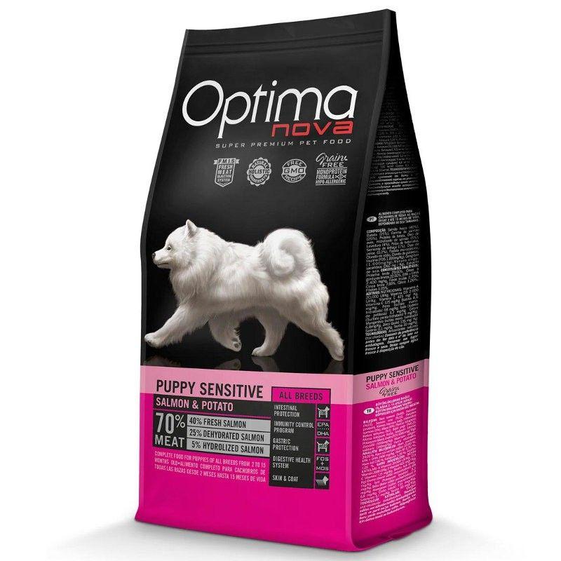 Optima Nova Dog Puppy Sensitive Salmon & Potato