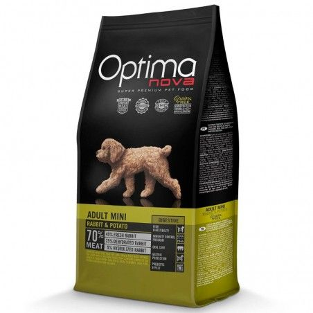 Optima Nova Dog Adult Mini Rabbit & Potato