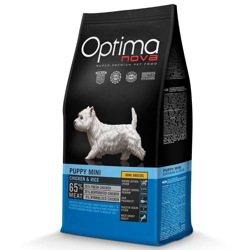 Optima Nova Dog Puppy Mini Chicken & Rice