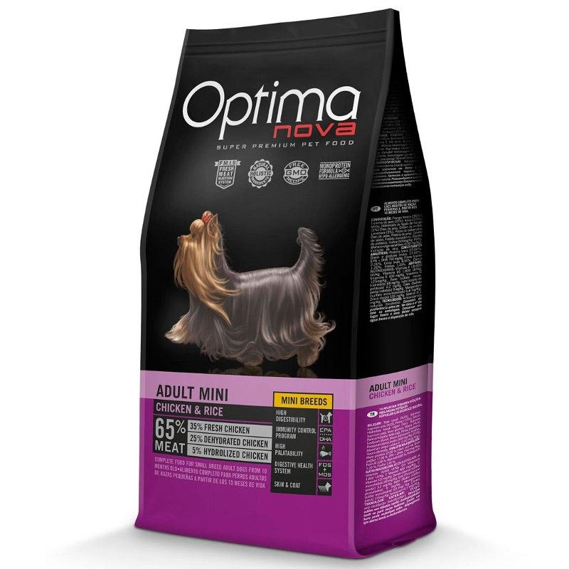 Optima Nova Dog Adult Mini Chicken & Rice