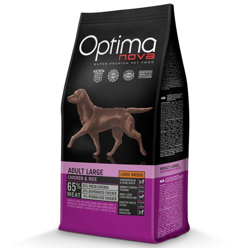 Optima Nova Dog Adult Large Chicken & Rice