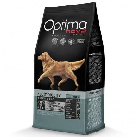 Optima Nova Dog Adult Obesity Chicken & Rice