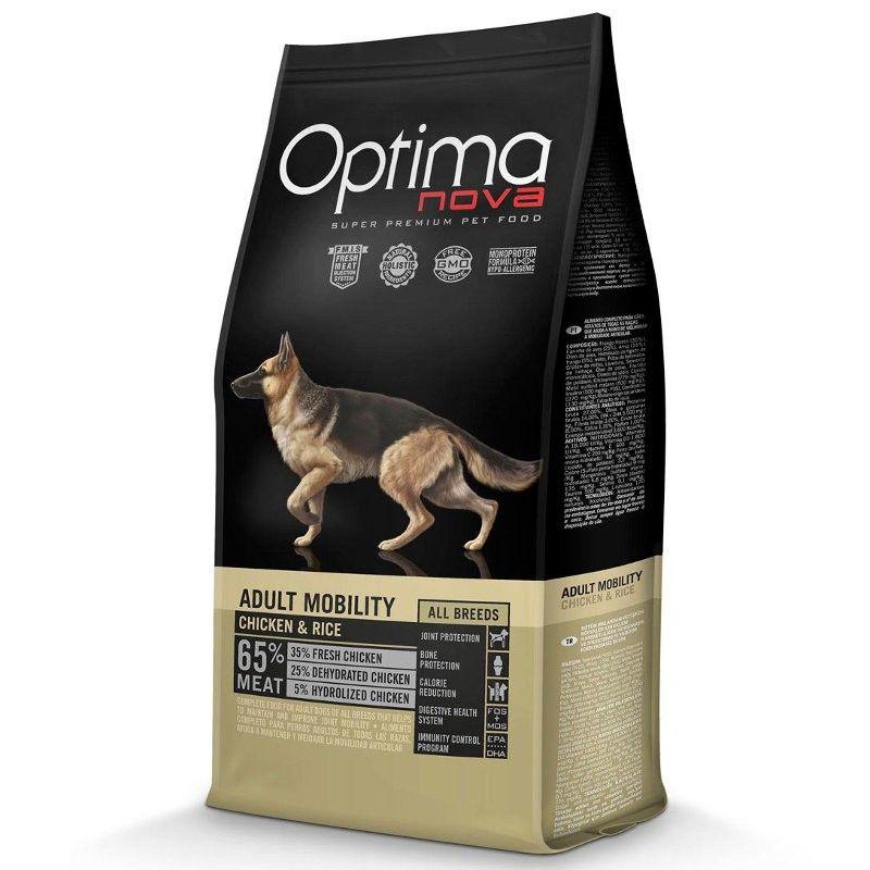 Optima Nova Dog Adult Mobility Chicken & Rice
