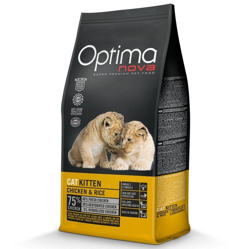 Optima Nova Cat Kitten Chicken & Rice