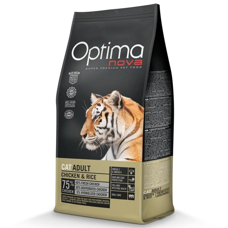 Optima Nova Cat Adult Chicken & Rice