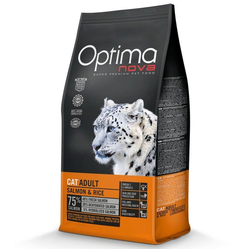 Optima Nova Cat Adult Salmon & Rice