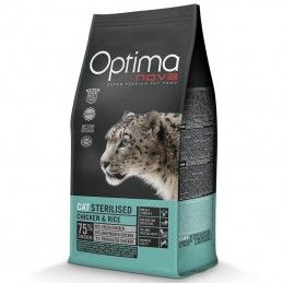 Optima Nova Cat Adult Sterilised Chicken & Rice
