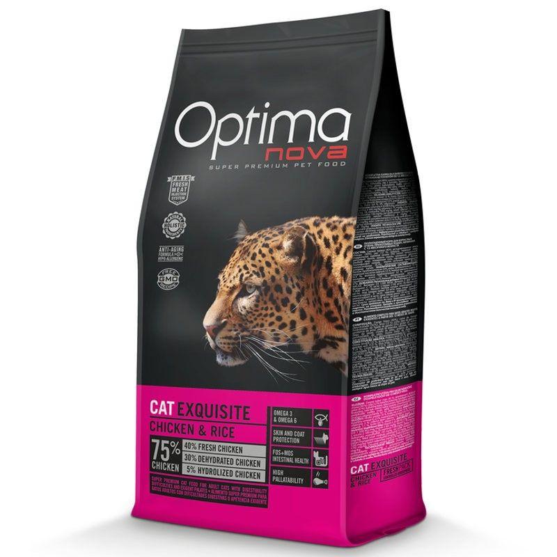 Optima Nova Cat Adult Exquisite Chicken & Rice