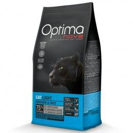 Optima Nova Cat Adult Light Chicken & Rice